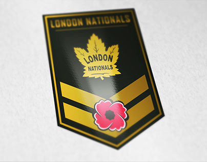 "London Nationals ""Salute To Service"" 2018 Concept"