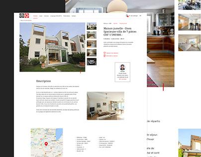 Real Estate, website