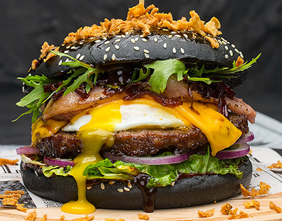 Burgers Foodstyling