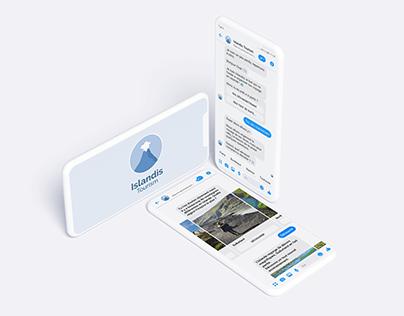 Islandis Tourism : Messenger bot