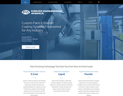 Custom Powder Paint Website