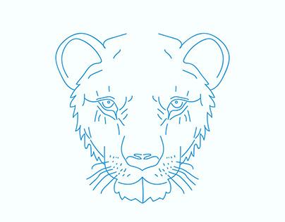 Animals Face - Adobe Illustrator