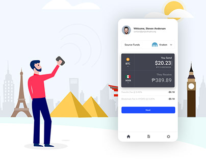 Mobile Remittance App - Hydro X