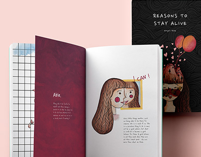 Reason To Stay Alive Illustration Book