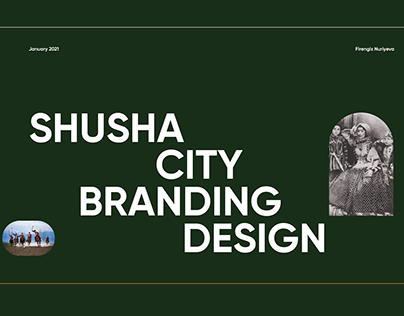 SHUSHA CITY BRANDING DESIGN