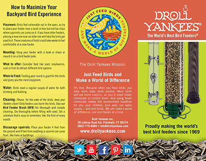 Droll Yankees Marketing Brochure