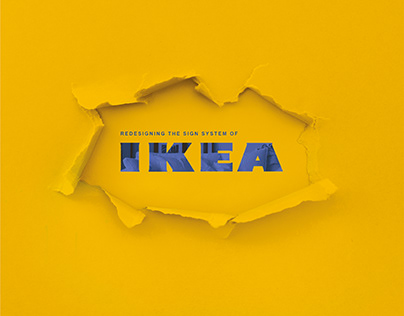 Sign System for IKEA