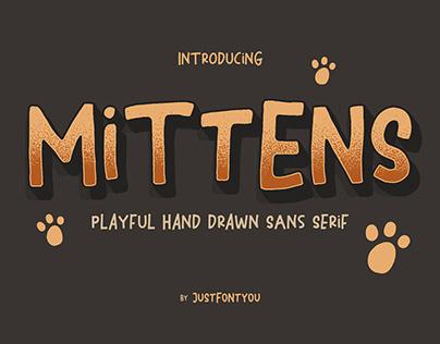 Mittens – Casual Fun Font