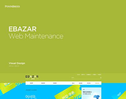 EBAZAR Website Maintenance