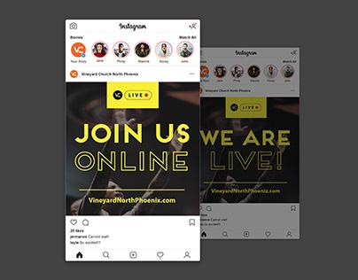 VC Online Service Social Media Graphics