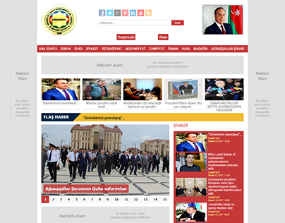 Agsaqqallar news site