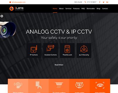 I lens Wordpress Website