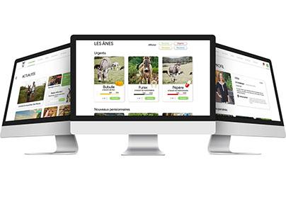 Aide aux ânes - Projet refonte de site web