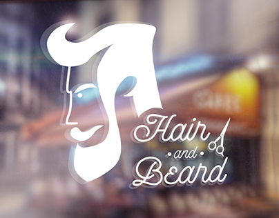 Hair and Beard - Logo