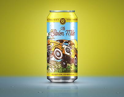 Stolen Mile Beer Can
