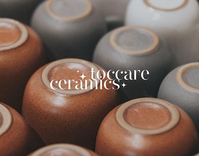 Toccare ceramics │ Identity & web design │ Concept
