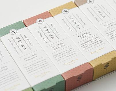 Heavenly Aroom | Aroma Packaging Design