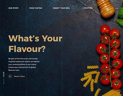 Chiqui Don Restaurant Website Design