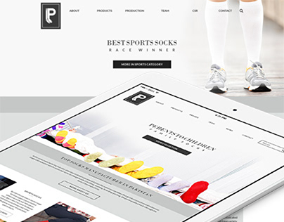 Pairs Socks logo and website