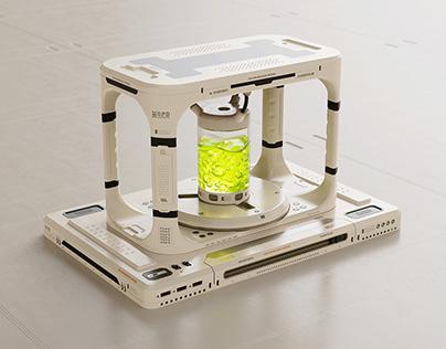 Strange medical machine