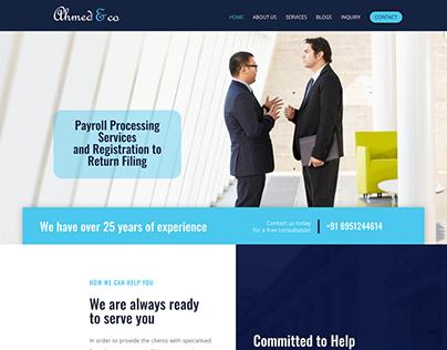 Tax return filing site