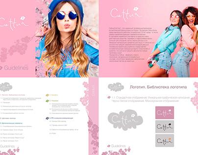Cettua.Korean Cosmetic Brand. Identity. Guidelines