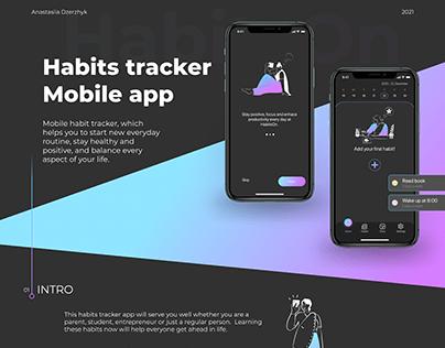 HabitsOn. Habits tracker