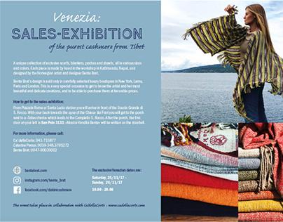 Exhibition invitations for Bente Brat/Dakini