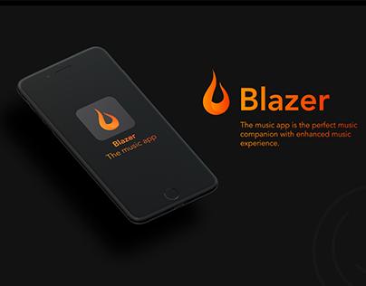 BLAZER - The music app