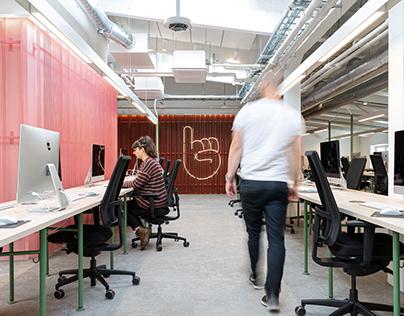 Hive Helsinki – interior