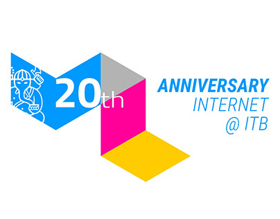 Identity for 20th Anniversary of Internet at ITB