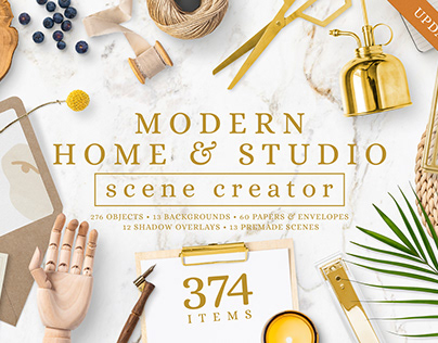Modern Home & Studio Scene By:Salt Color Studio