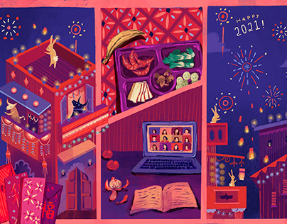 Quarantine Life in Lunar New Year