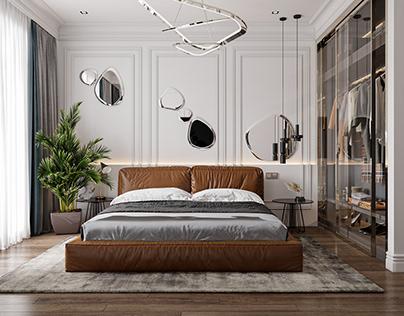 Neoclassic interior design II bedroom