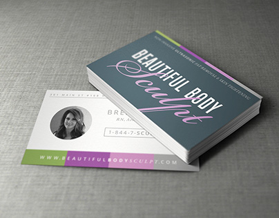 """Beautiful Body Sculpt"" Branding, Website, and more..."