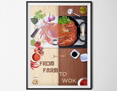 Singapore Food Festival Teaser Ad Poster
