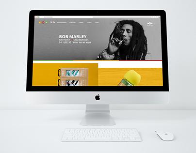 Web design_House of Marley