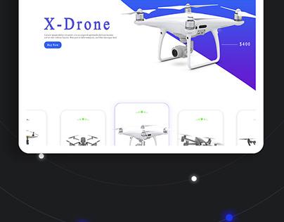 Drone Area - UI/UX