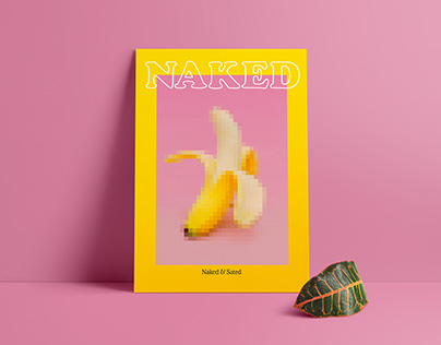 Naked & Sated | branding