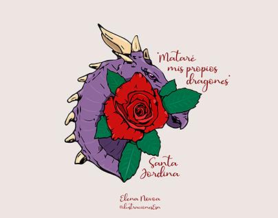 """""""Mataré mis propios dragones"""""""