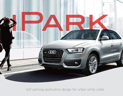 Self-parking Application Design for Audi(2014)