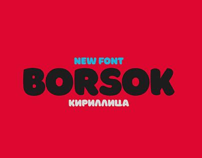 BORSOK - FREE BOLD DISPLAY FONT