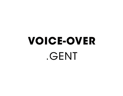 Voice-over.gent