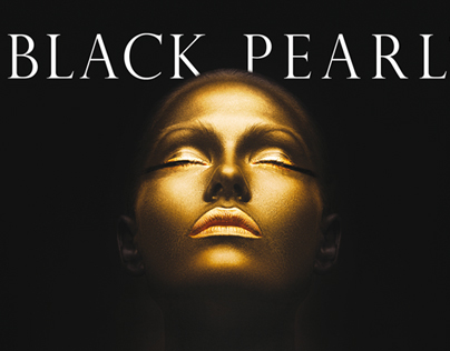 Black Pearl - 24K Gold