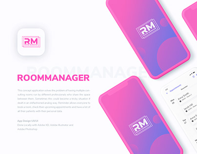 ROOMMANAGER App Design UX/UI