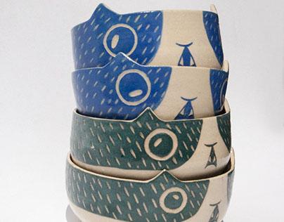Cat bowls!