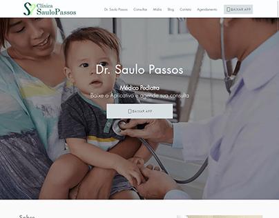 Site - Clínica Saulo Passos