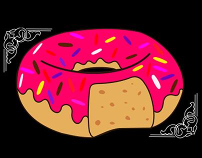 A vida é como uma rosquinha