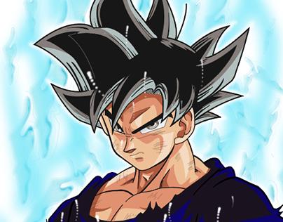 Goku Illustrator