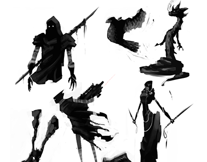 Character Concept Thumbnails